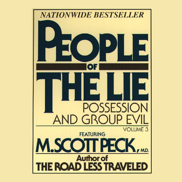 Printable People of the Lie, Vol. 3: Possession and Group Evil Audiobook Cover Art