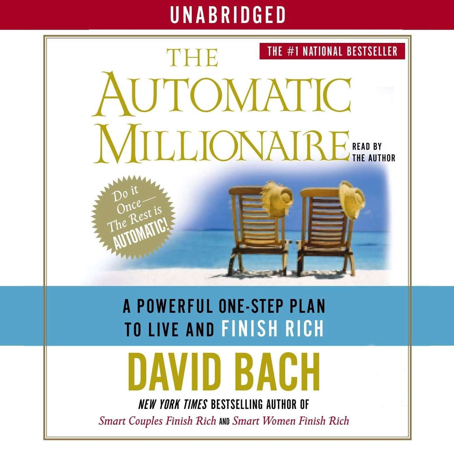 Printable The Automatic Millionaire: A Powerful One-Step Plan to Live and Finish Rich Audiobook Cover Art
