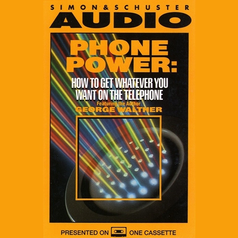 Printable Phone Power Audiobook Cover Art