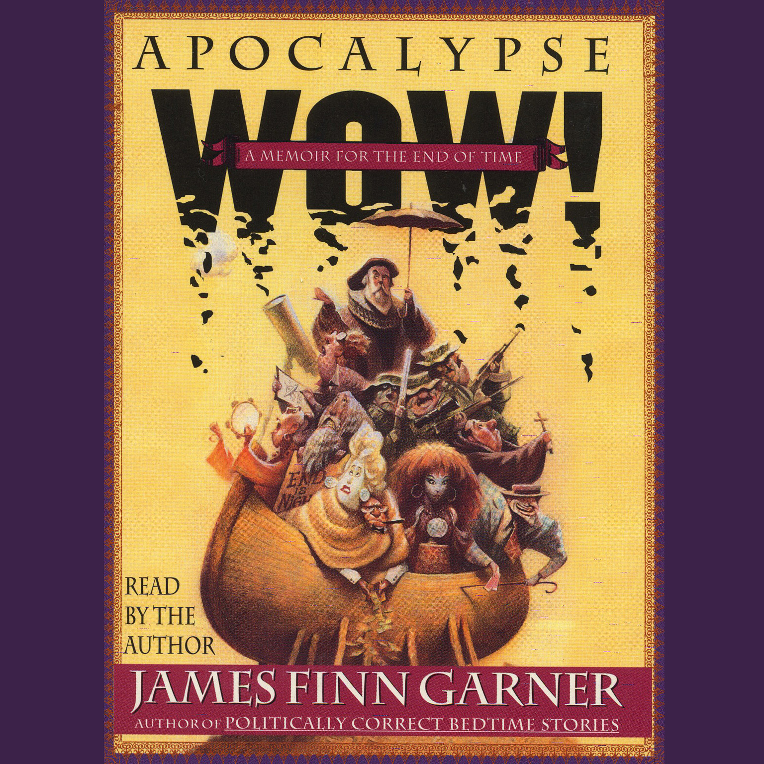 Printable Apocalypse Wow: A Memoir for the End of Time Audiobook Cover Art