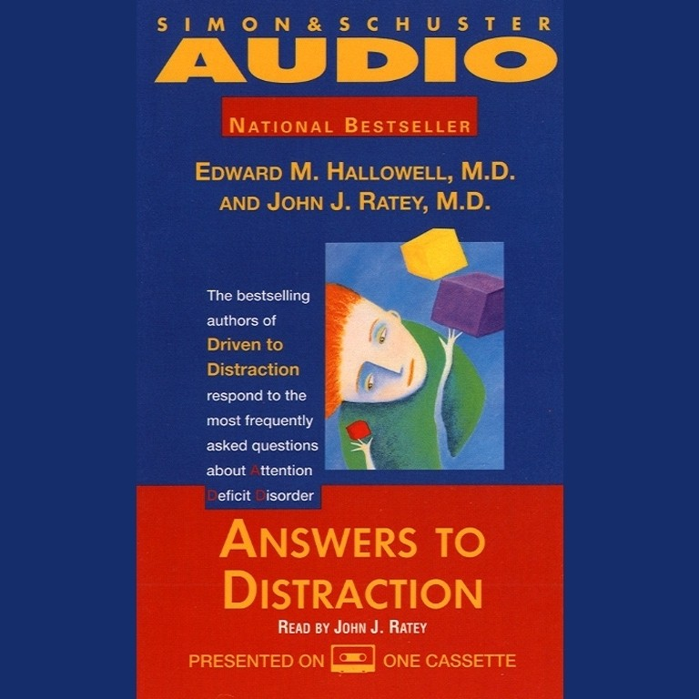 Printable Answers to Distraction Audiobook Cover Art