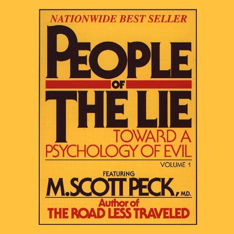Printable People of the Lie, Vol. 1: Toward a Psychology of Evil Audiobook Cover Art