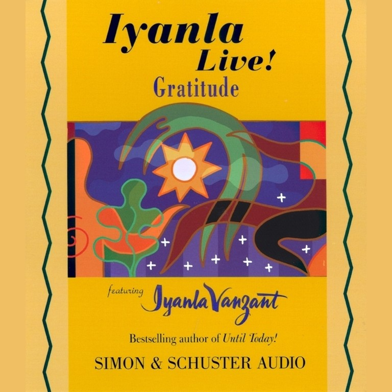 Printable Iyanla Live! Gratitude Audiobook Cover Art