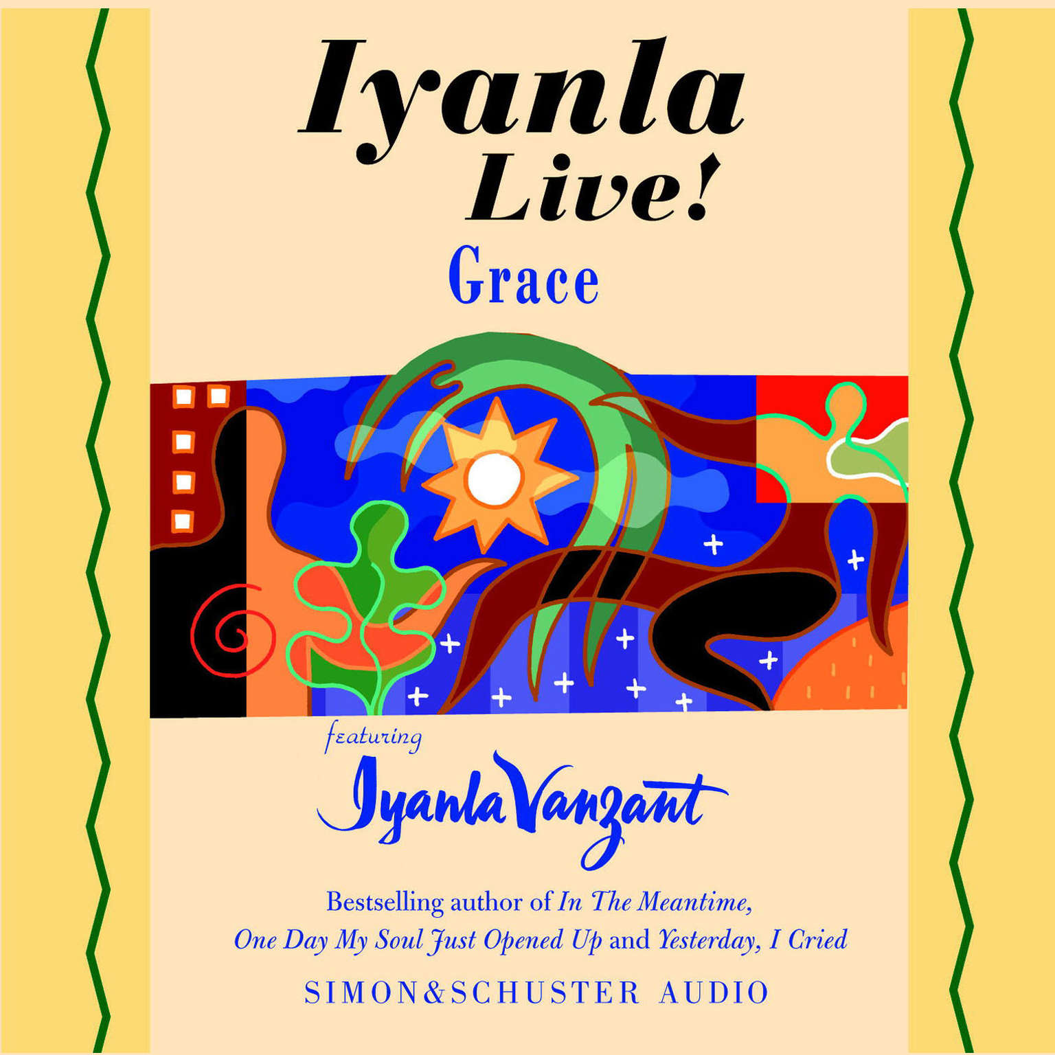 Printable Iyanla Live! Grace Audiobook Cover Art