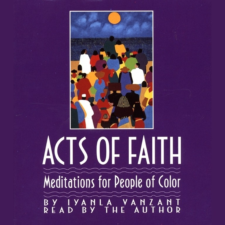 Printable Acts of Faith: Meditations for People of Color Audiobook Cover Art