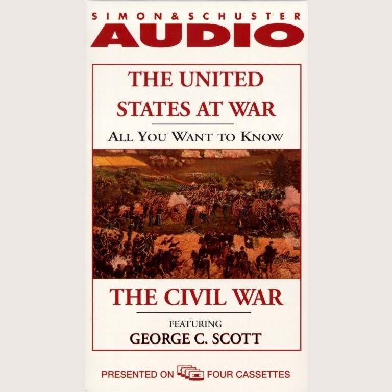 Printable All You Want to Know About the United States at War: The Civil War Audiobook Cover Art