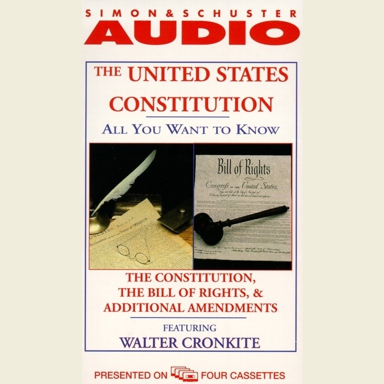 Printable All You Want to Know about the United States Constitution: The Constitution, the Bill of Rights, and Additional Amendments Audiobook Cover Art