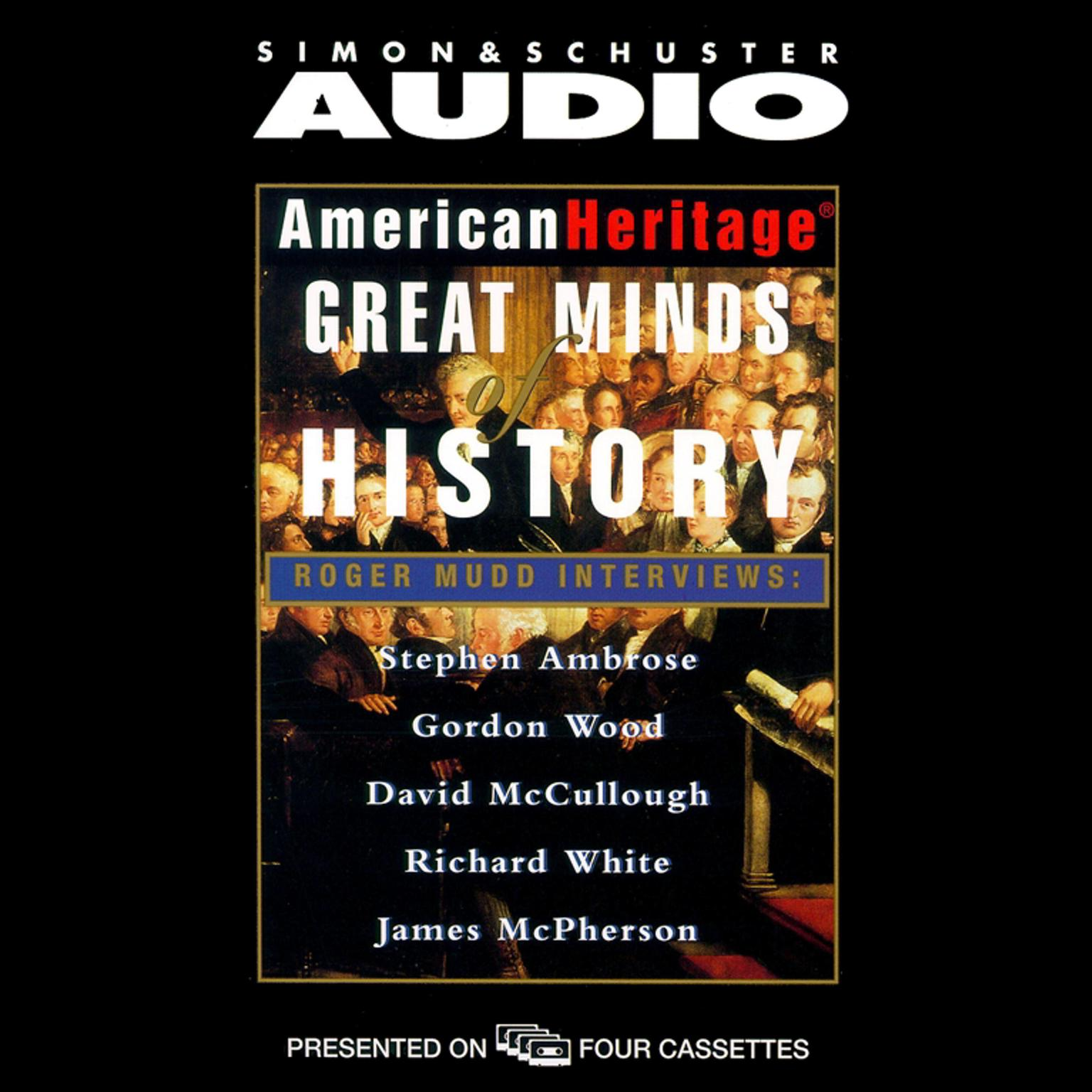 Printable American Heritage's Great Minds of American History Audiobook Cover Art