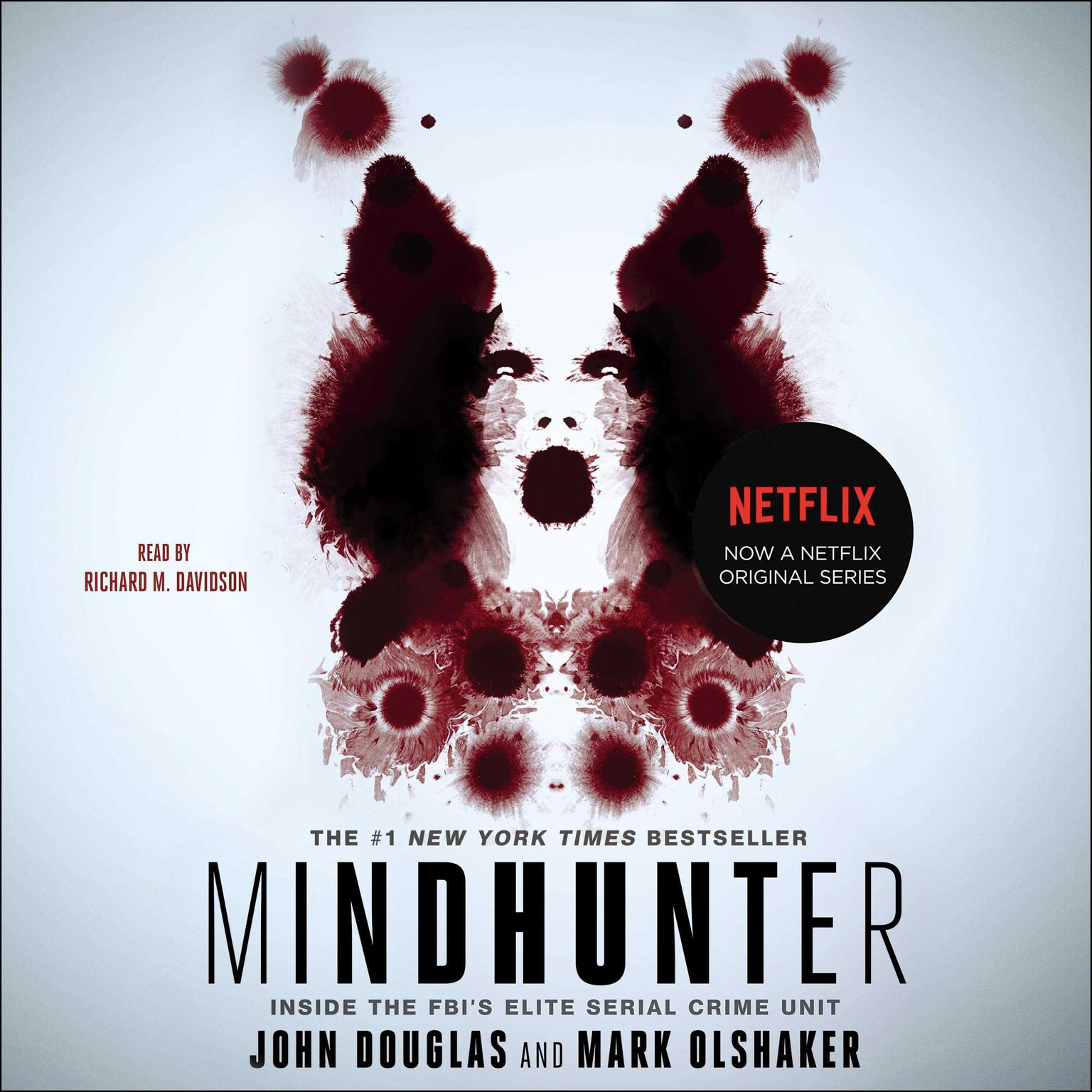 Printable Mindhunter: Inside the FBI's Elite Serial Crime Unit Audiobook Cover Art