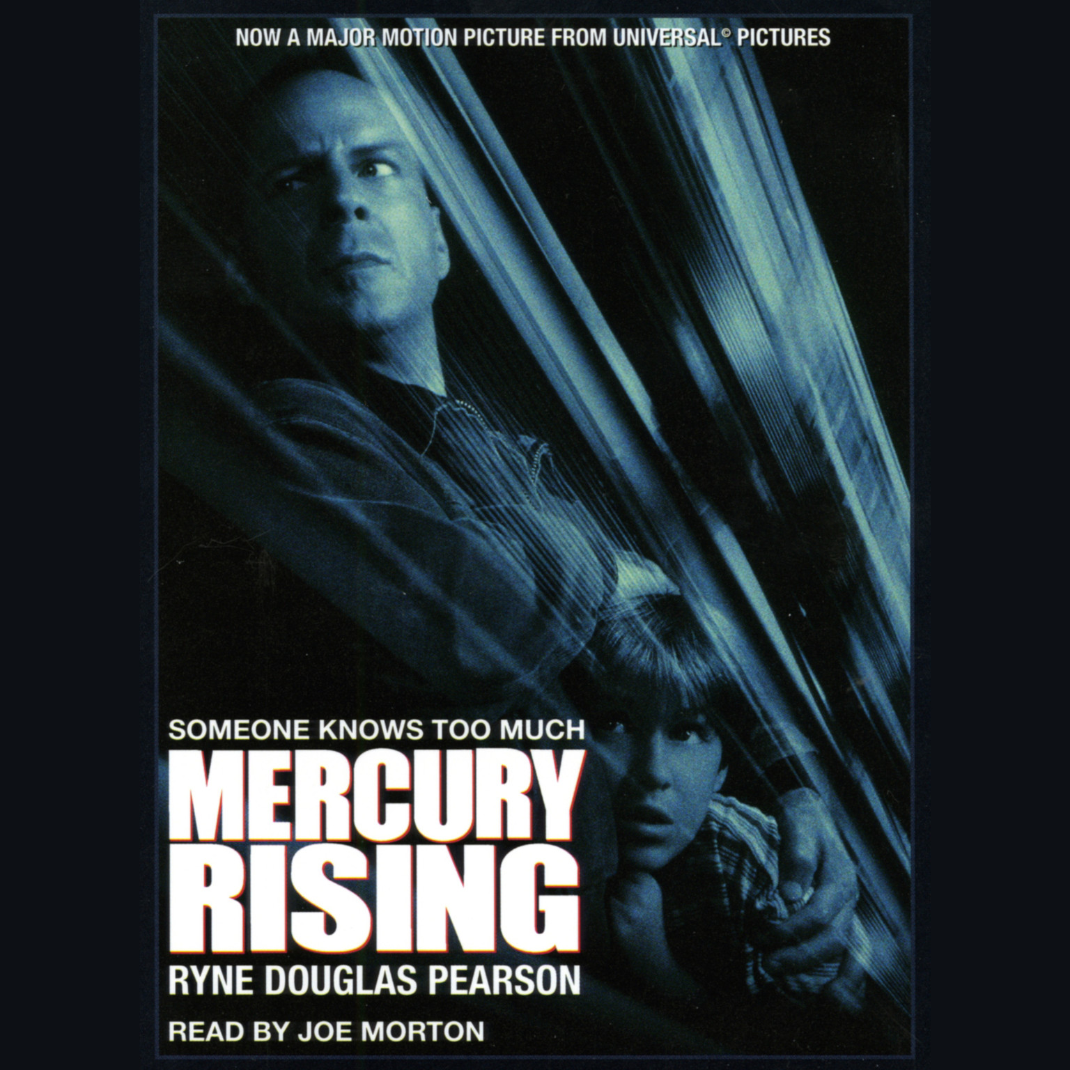 Printable Mercury Rising Audiobook Cover Art