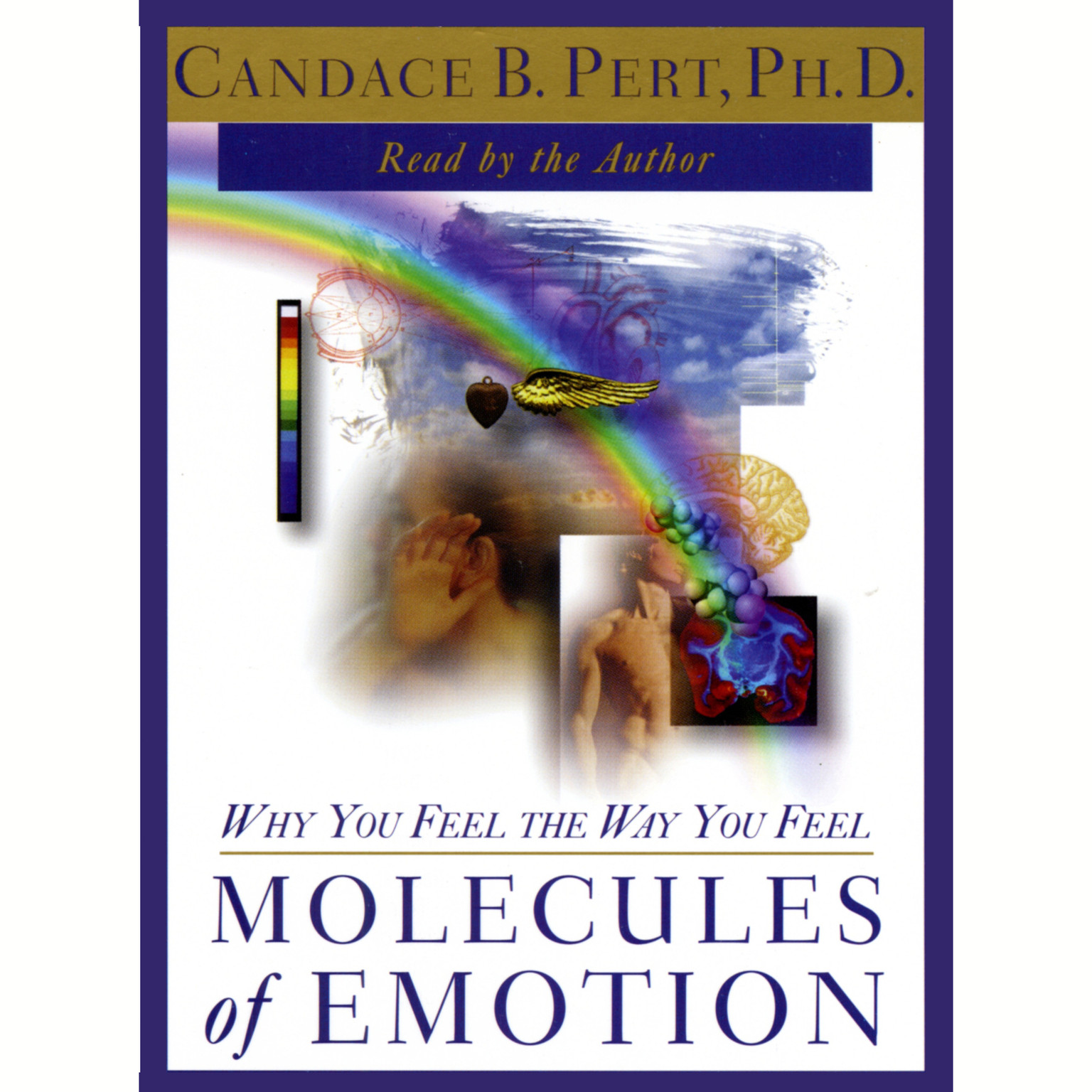 Printable Molecules of Emotion: Why You Feel the Way You Feel Audiobook Cover Art