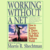 Working without a Net: How to Survive and Thrive in Todays High Risk Business World Audiobook, by Morris R. Shechtman