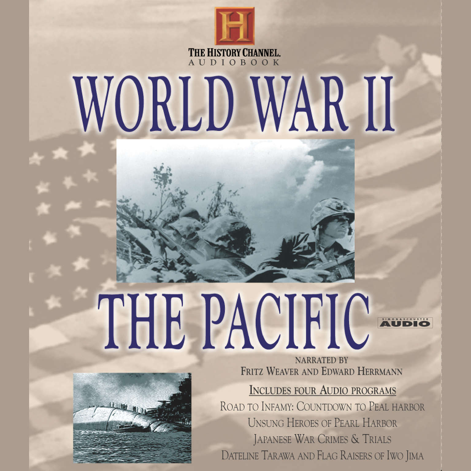 Printable World War II: The Pacific Audiobook Cover Art