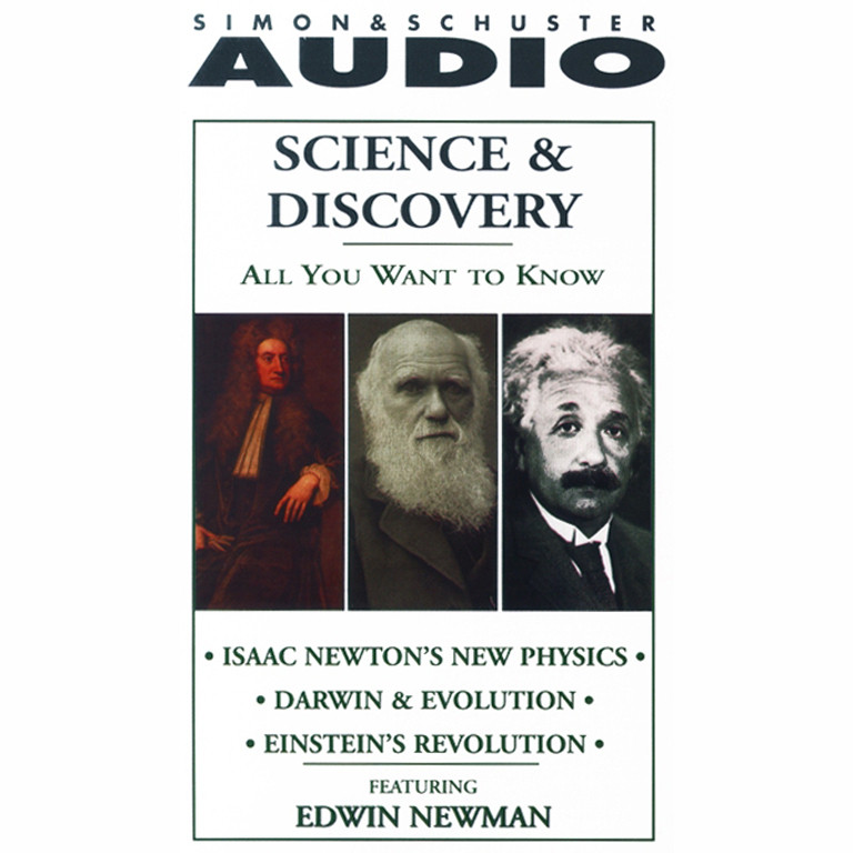Printable Science and Discovery: Isaac Newton's New Physics; Darwin & Evolution; Einstein's Revolution Audiobook Cover Art