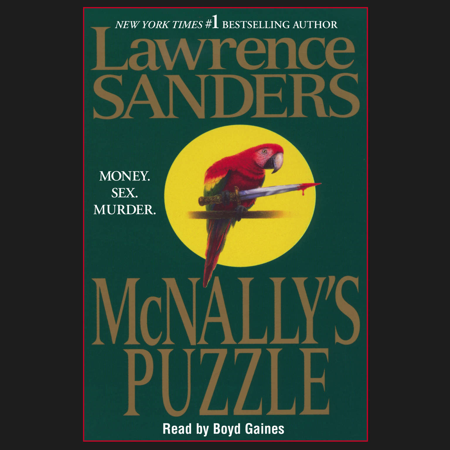 Printable McNally's Puzzle Audiobook Cover Art