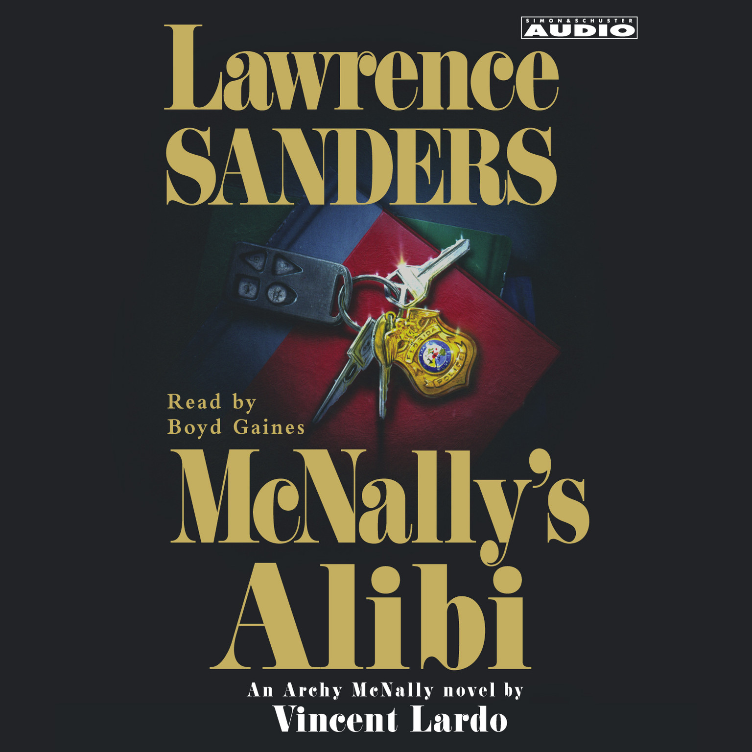 Printable McNally's Alibi Audiobook Cover Art
