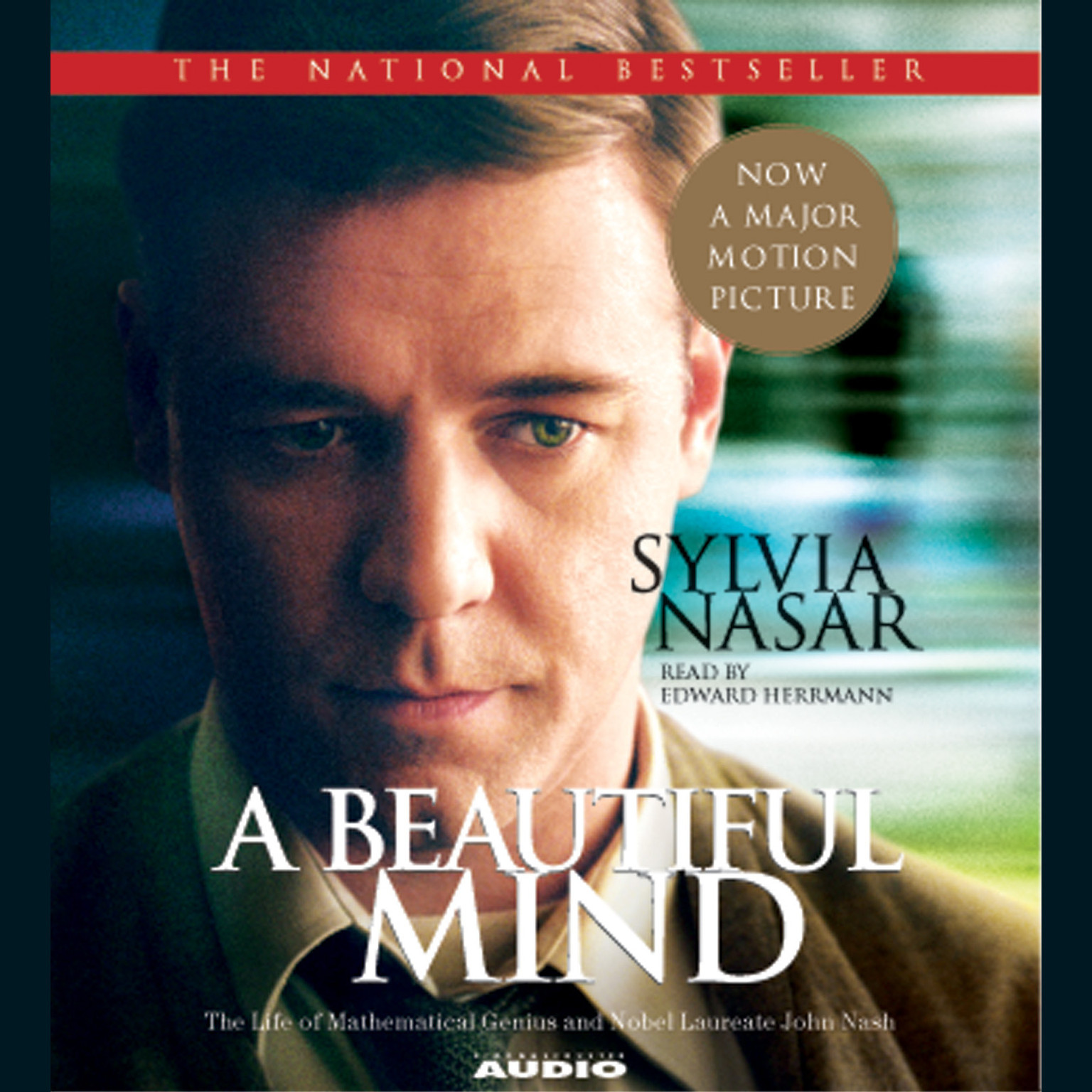 Printable A Beautiful Mind: The Life of Mathematical Genius and Nobel Laureate John Nash Audiobook Cover Art