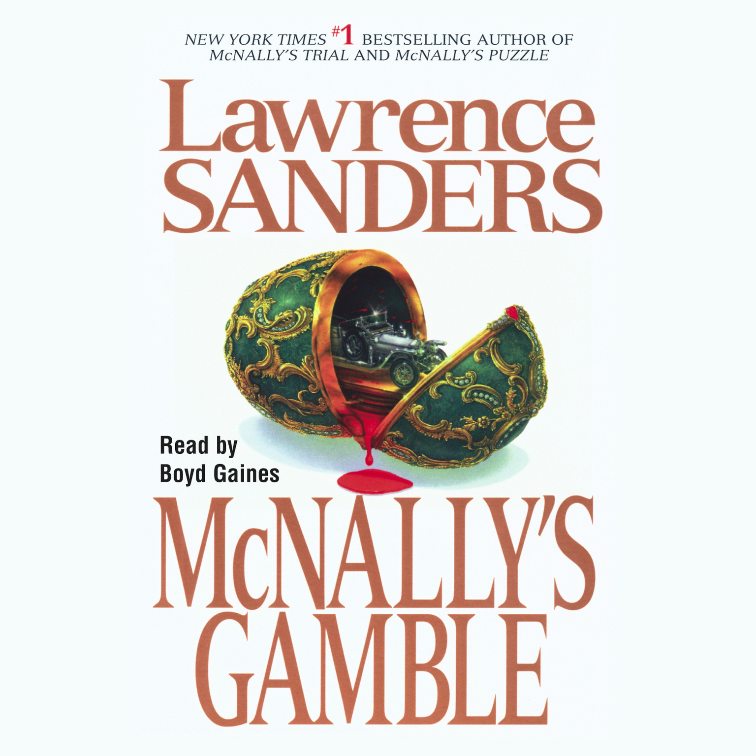 Printable McNally's Gamble Audiobook Cover Art