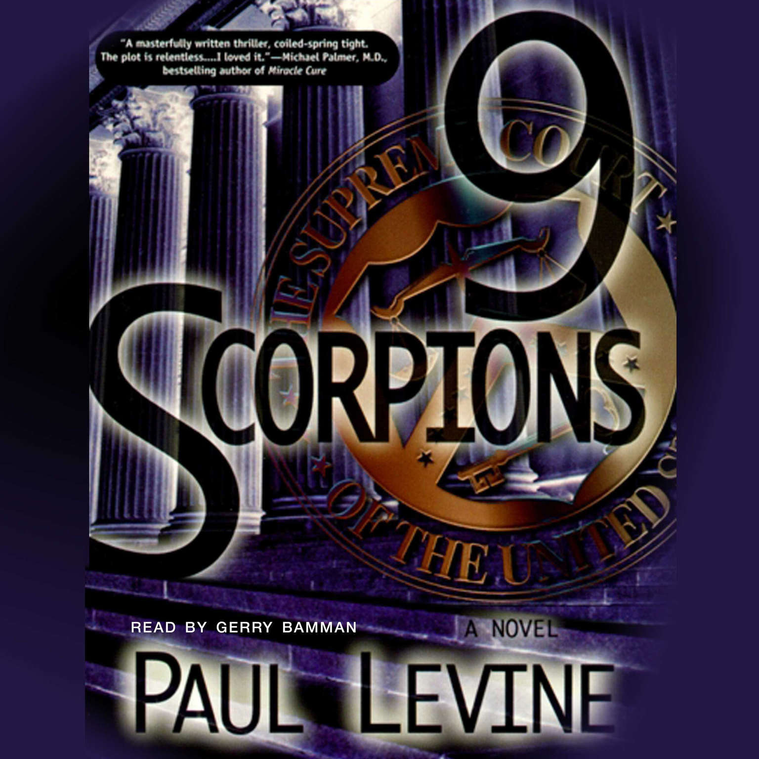 Printable 9 Scorpions Audiobook Cover Art