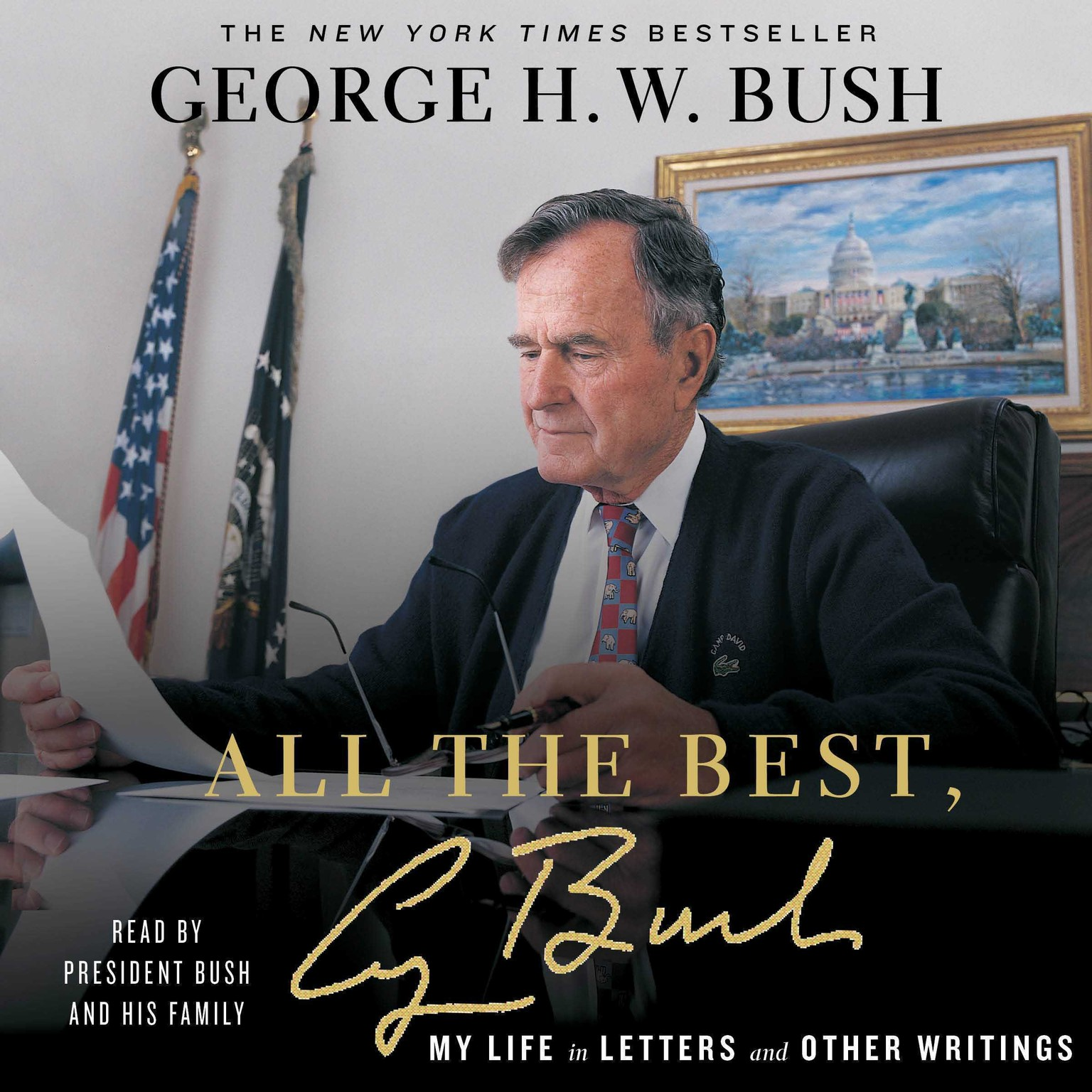 Printable All the Best, George Bush: My Life in Letters and Other Writings Audiobook Cover Art