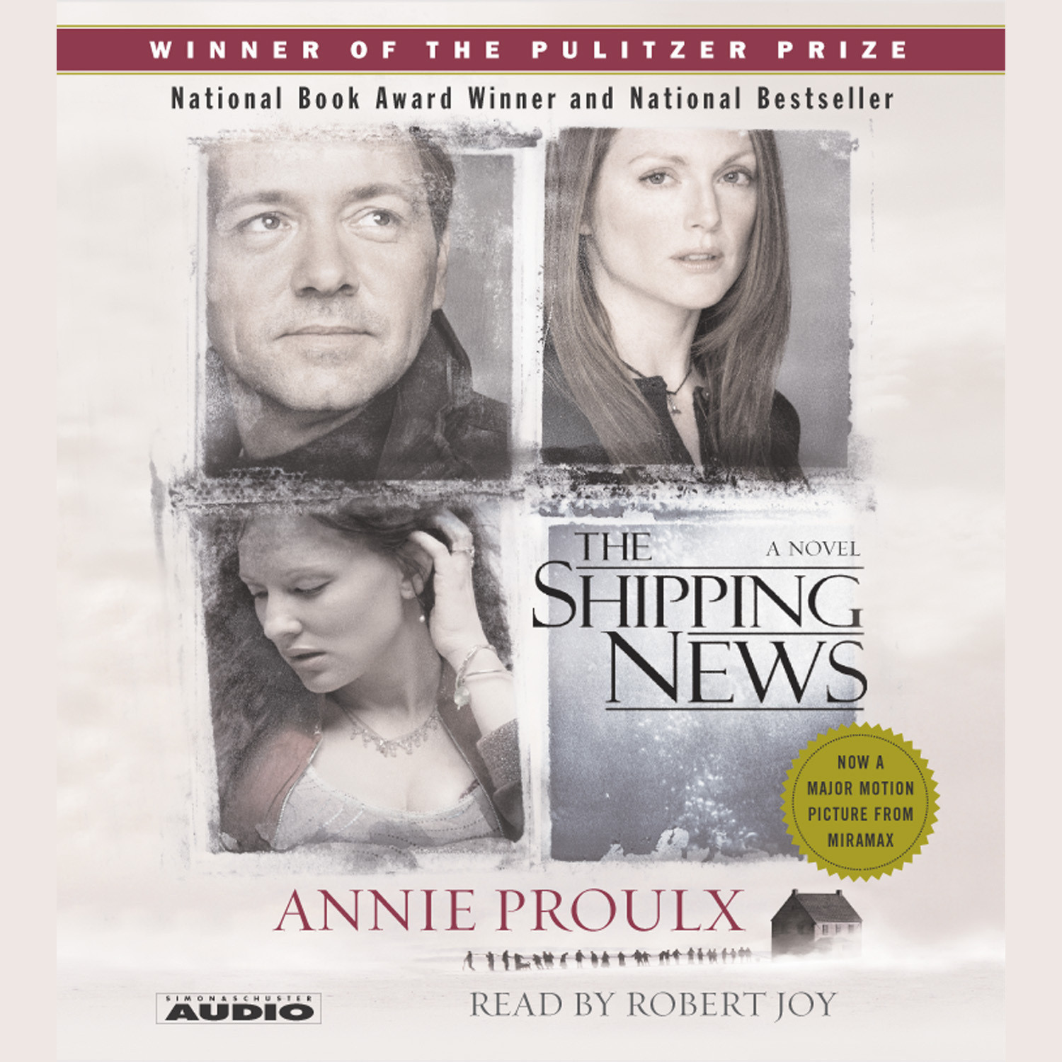 Printable The Shipping News Audiobook Cover Art