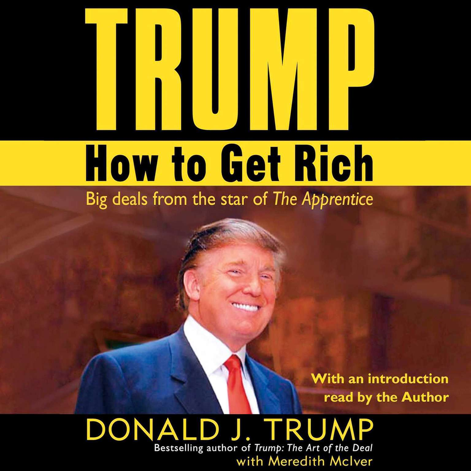 Printable Trump: How to Get Rich Audiobook Cover Art