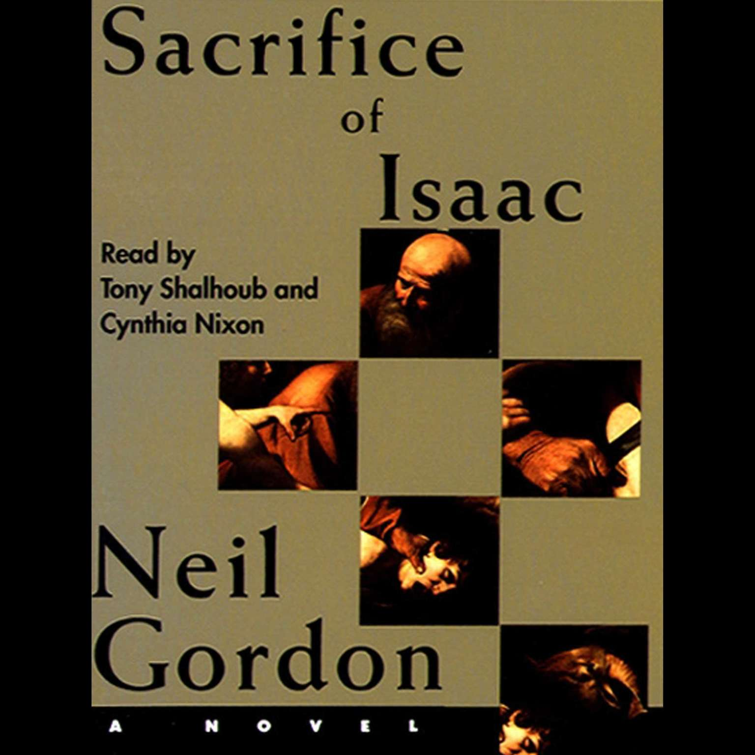 Printable Sacrifice of Isaac Audiobook Cover Art