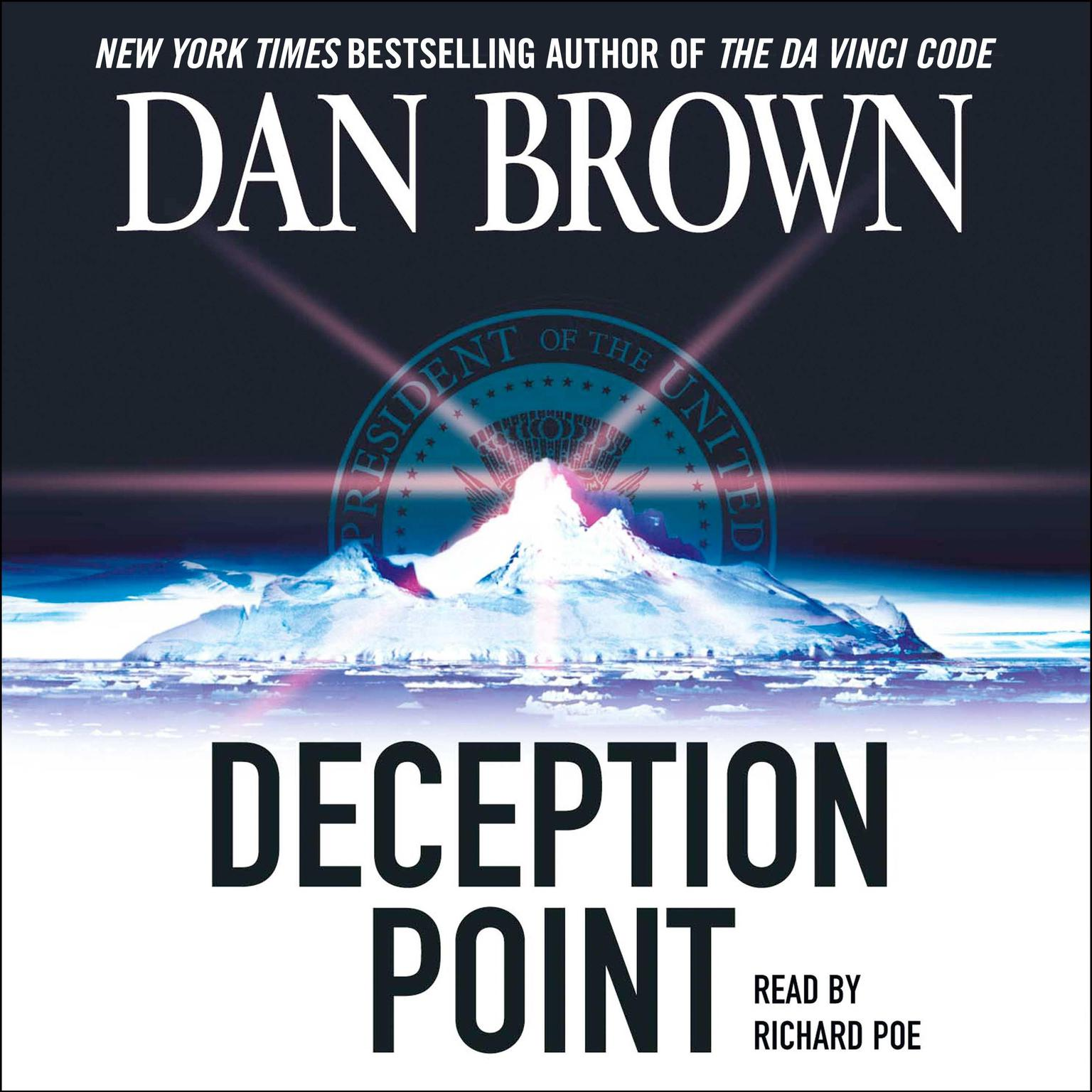 Printable Deception Point Audiobook Cover Art