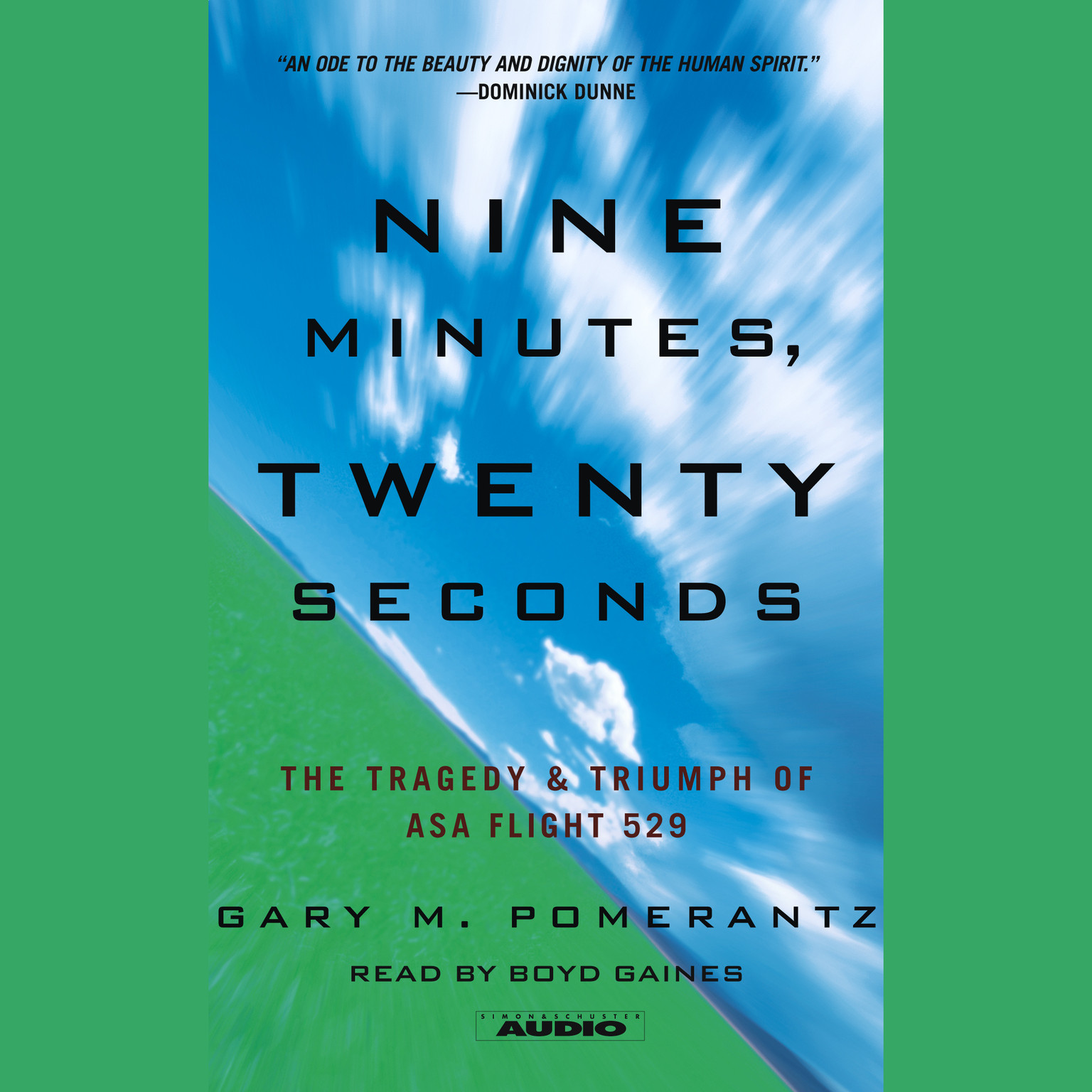 Printable Nine Minutes, Twenty Seconds: The Tragedy and Triumph of ASA Flight 529 Audiobook Cover Art