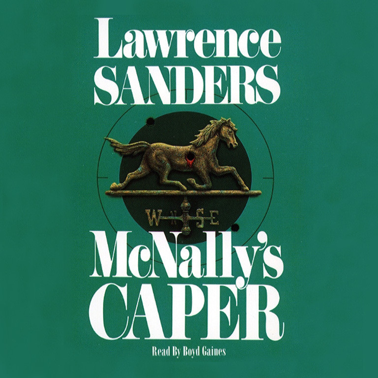 Printable Mcnally's Caper Audiobook Cover Art