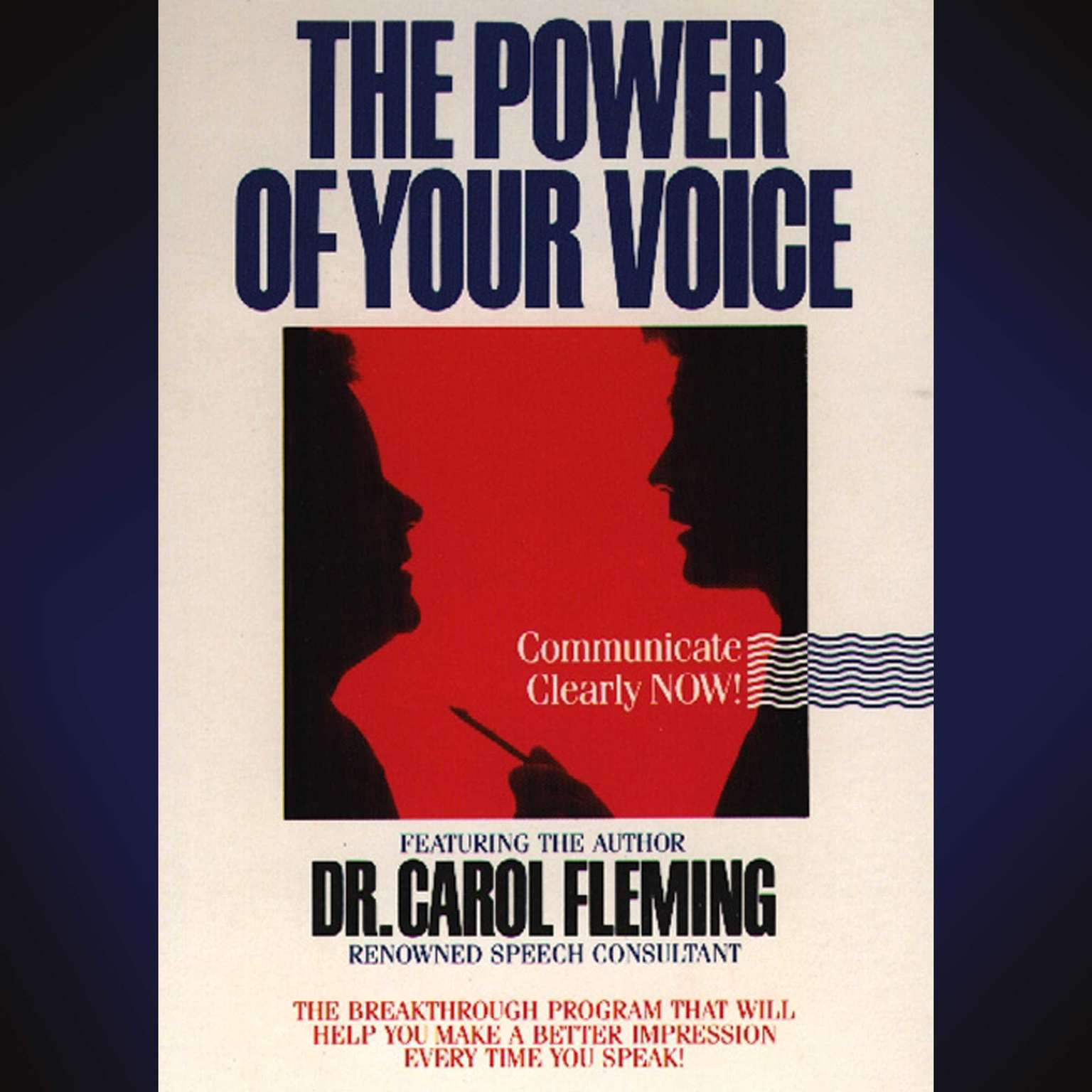 Printable The Power of Your Voice Audiobook Cover Art