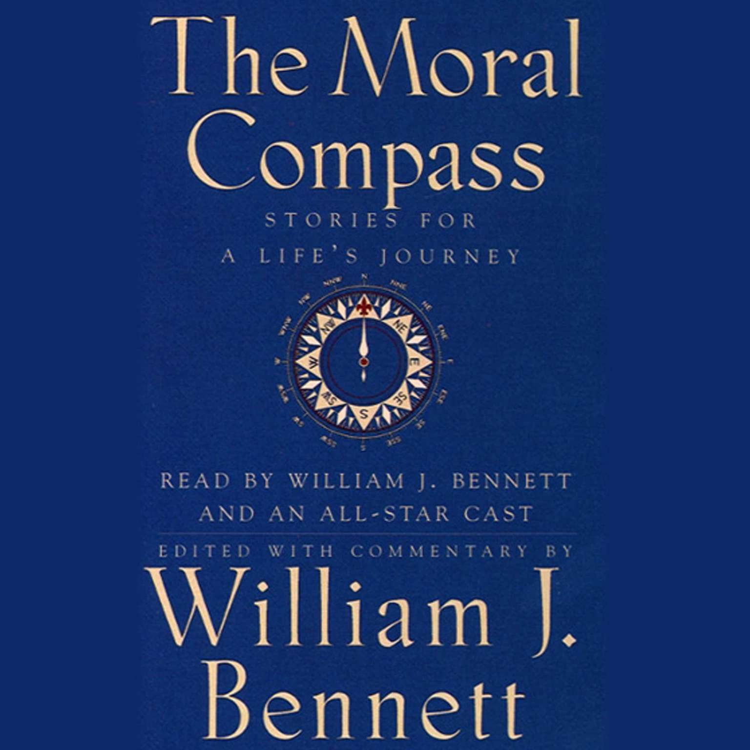 Printable The Moral Compass: Volume One of An Audio Library of Stories for a Life's Journey Audiobook Cover Art