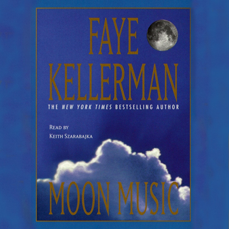Printable Moon Music Audiobook Cover Art