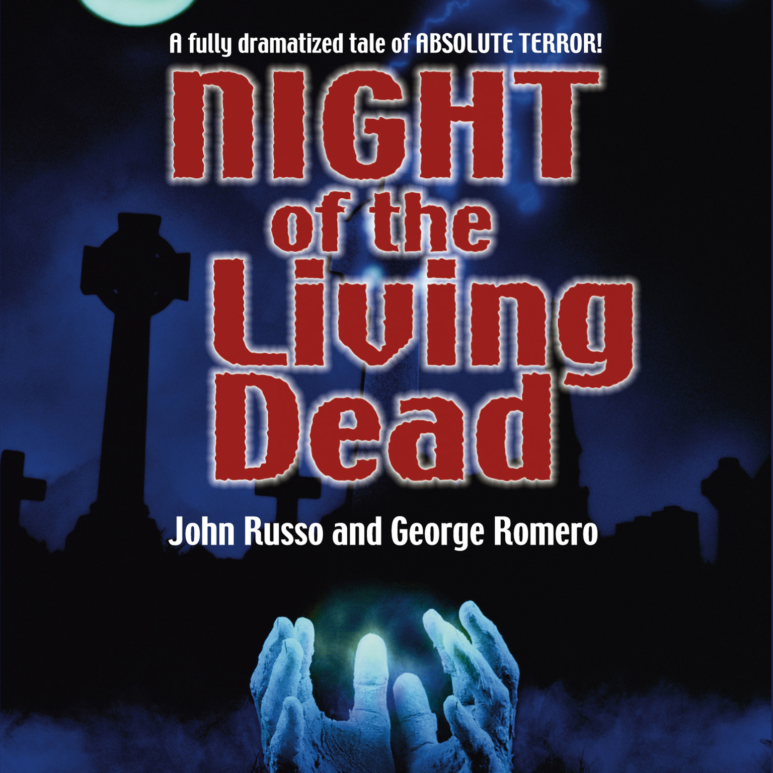 Printable Night of the Living Dead Audiobook Cover Art