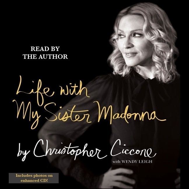 Printable Life with My Sister Madonna Audiobook Cover Art
