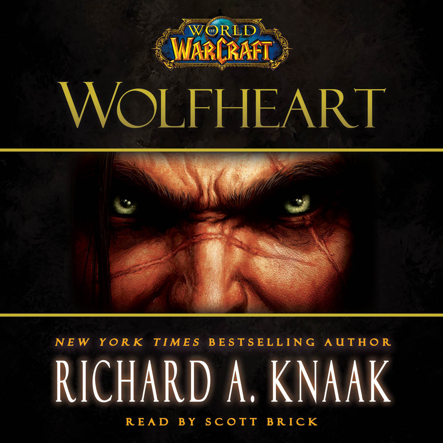 Printable World of Warcraft: Wolfheart Audiobook Cover Art
