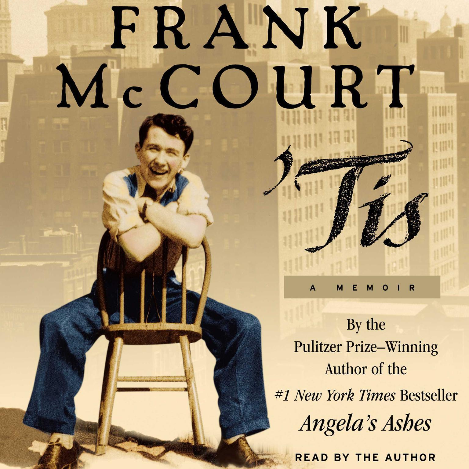 Printable 'Tis (Abridged): A Memoir Audiobook Cover Art