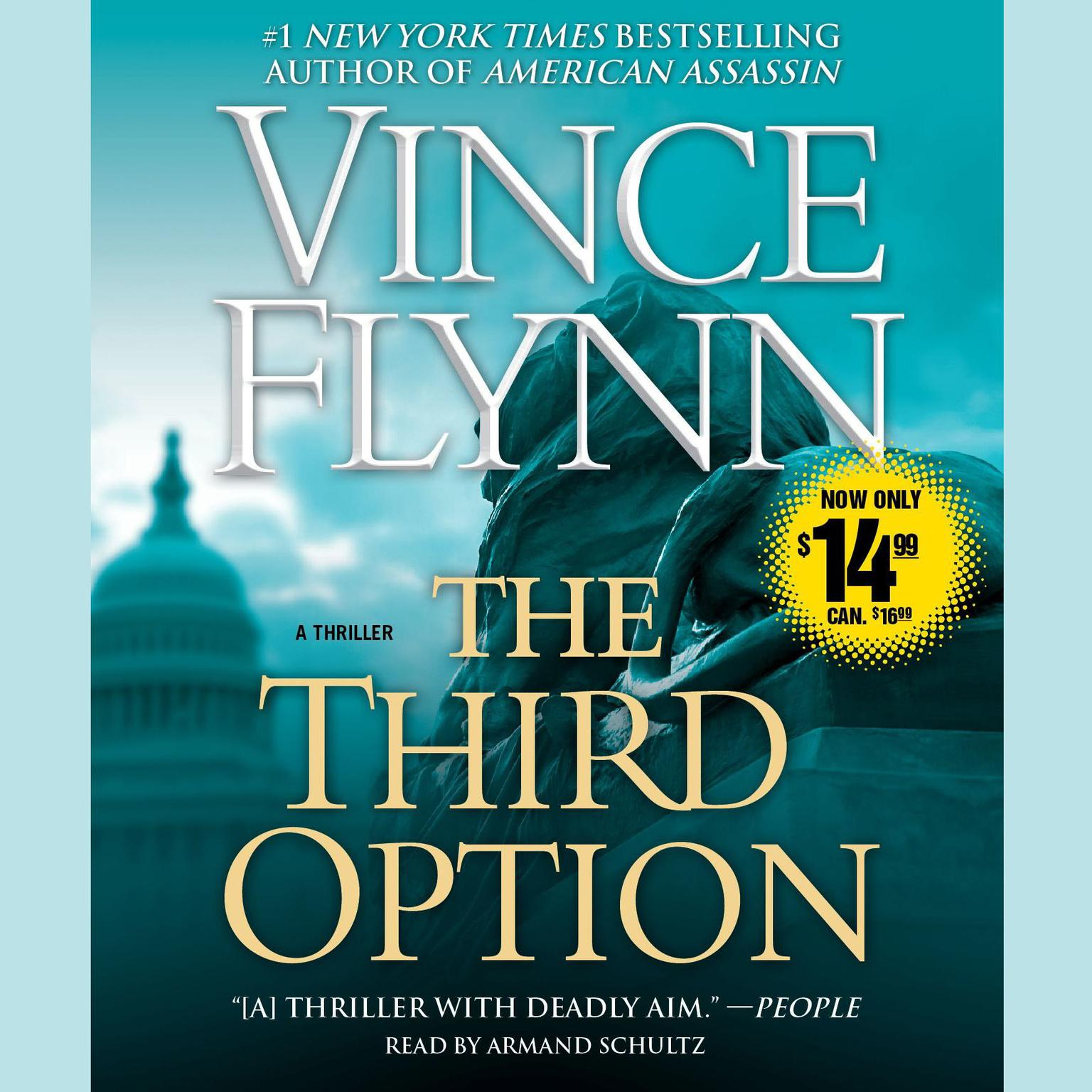 Printable The Third Option Audiobook Cover Art