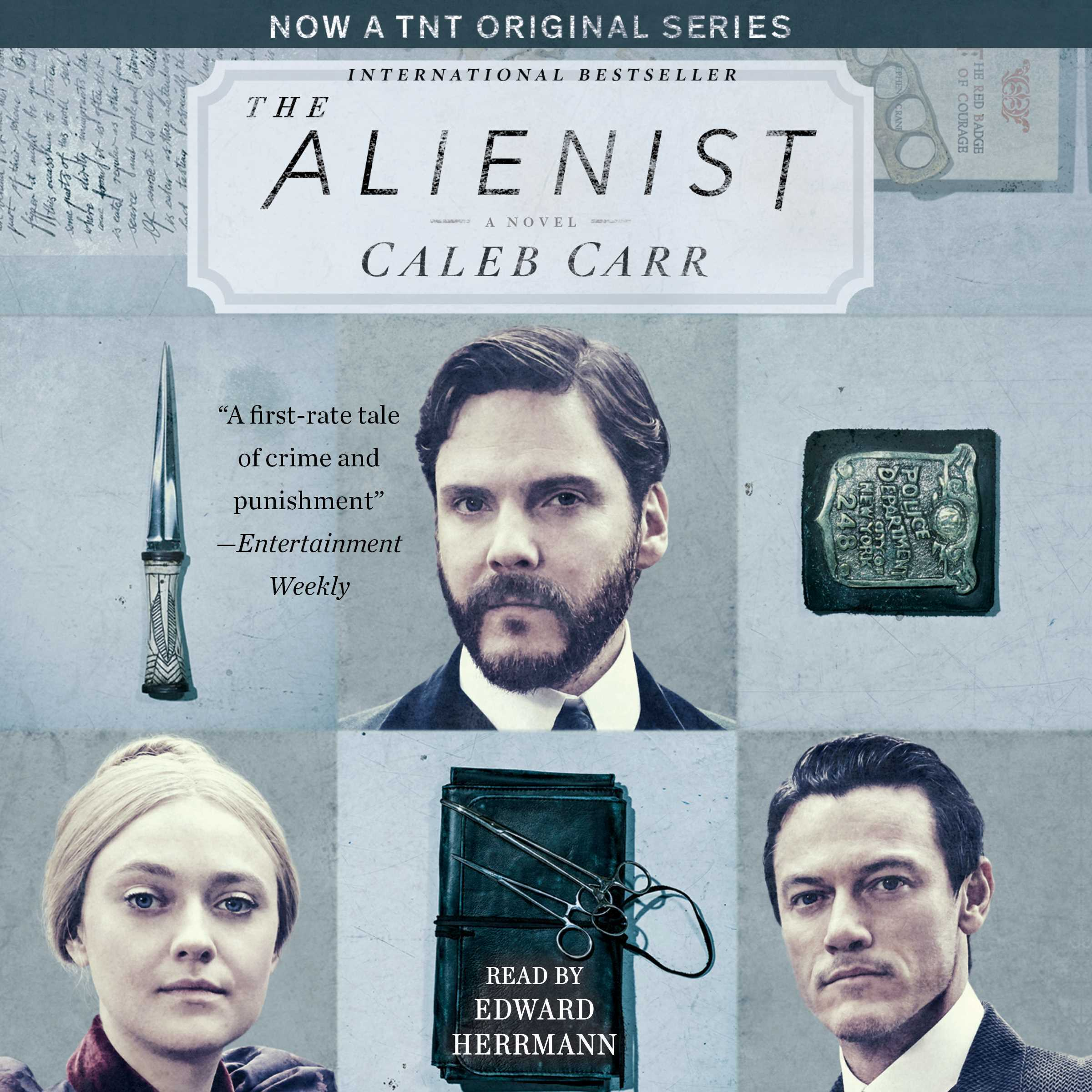 Printable The Alienist Audiobook Cover Art