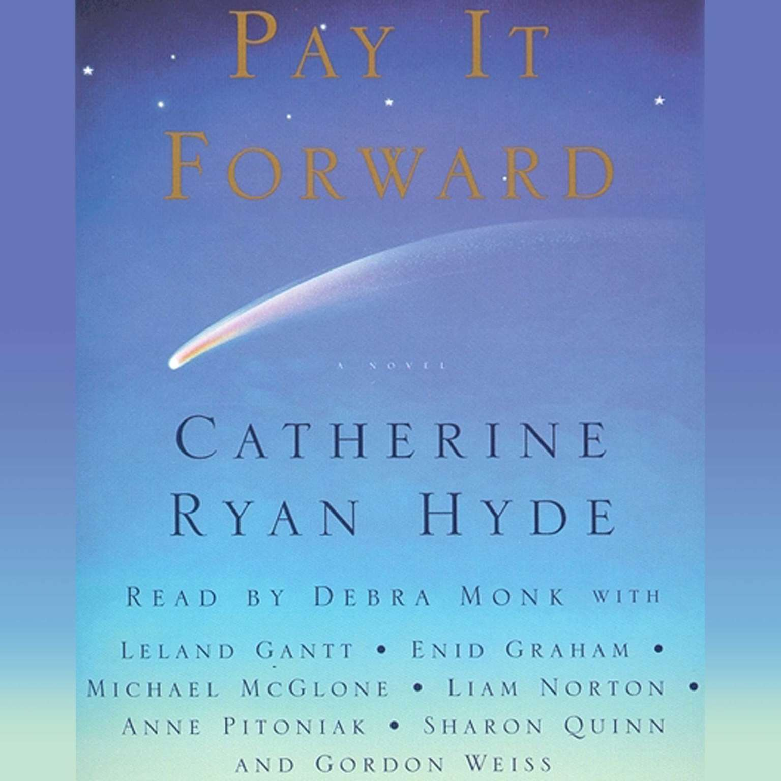 Printable Pay It Forward: A Novel Audiobook Cover Art