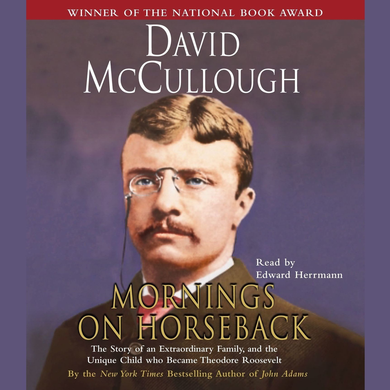Printable Mornings On Horseback: The Story of an Extraordinary Family, a Vanished Way of Life, and the Unique Child Who Became Theodore Roosevelt Audiobook Cover Art