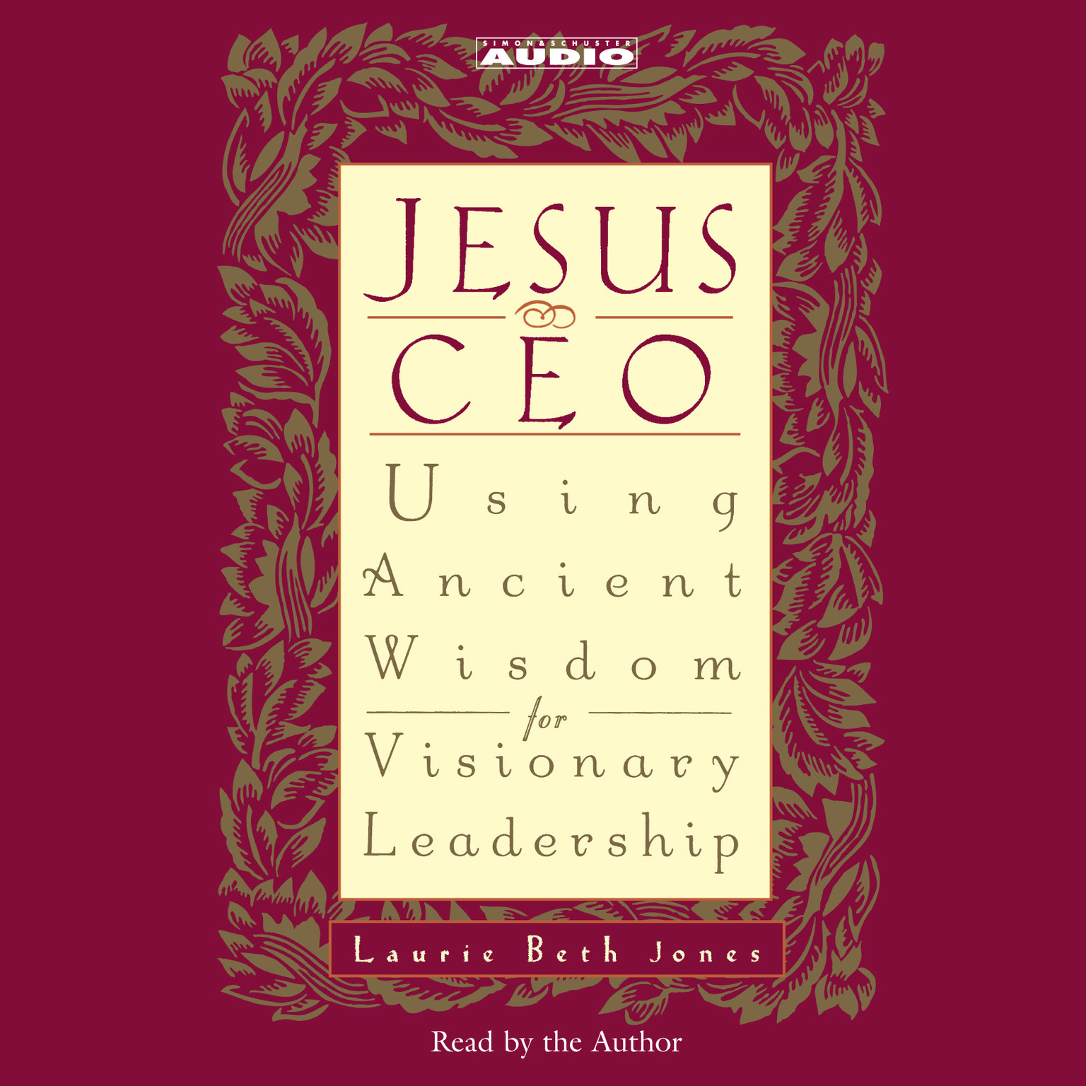 Printable Jesus CEO: Using Ancient Wisdom for Visionary Leadership Audiobook Cover Art