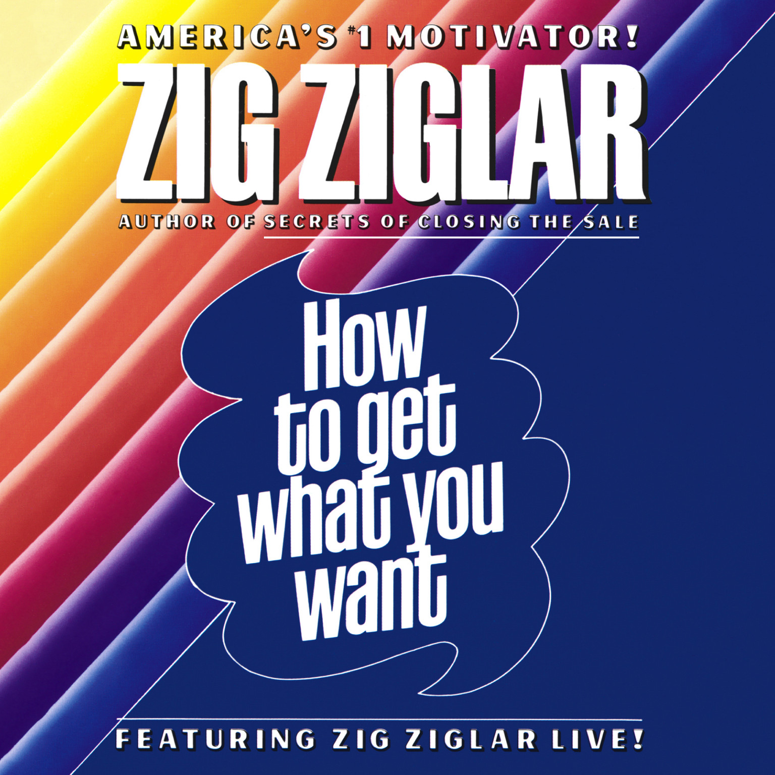 Printable How to Get What You Want Audiobook Cover Art