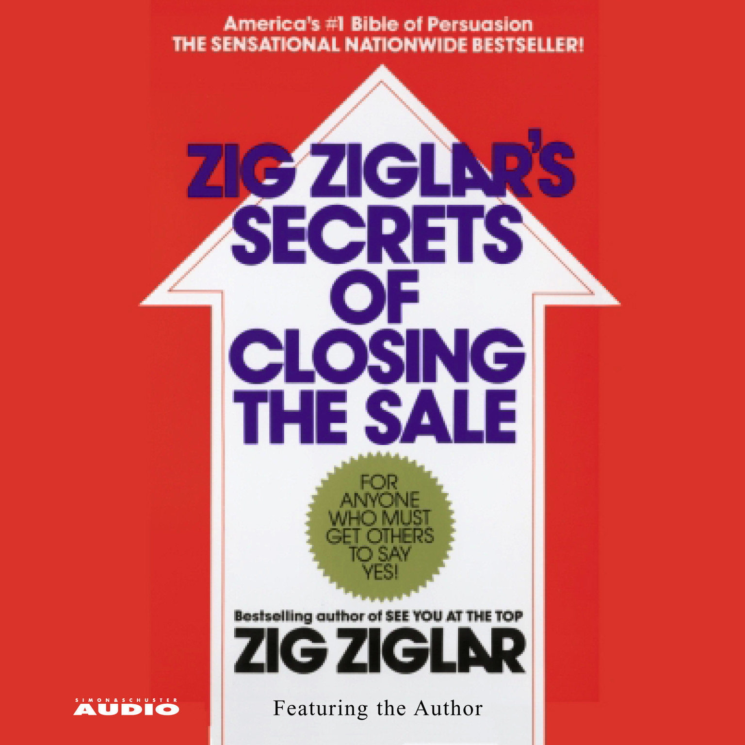 Printable The Secrets of Closing the Sale Audiobook Cover Art