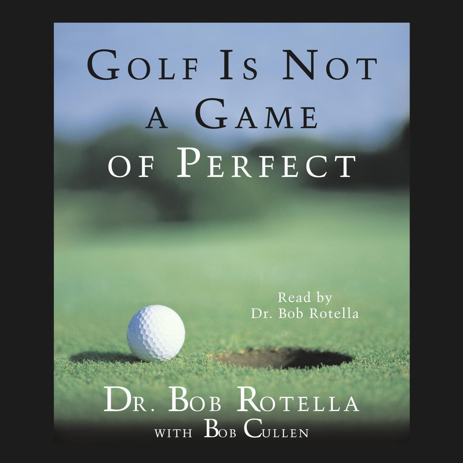 Printable Golf Is Not A Game Of Perfect Audiobook Cover Art