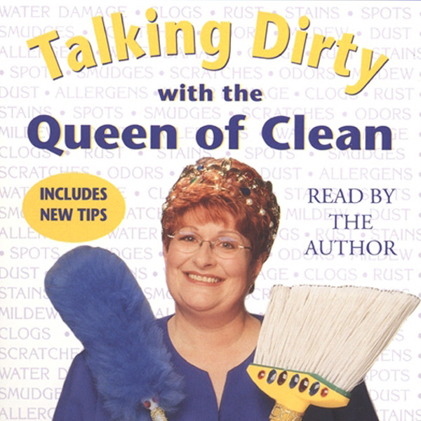 Printable Talking Dirty With the Queen of Clean Audiobook Cover Art