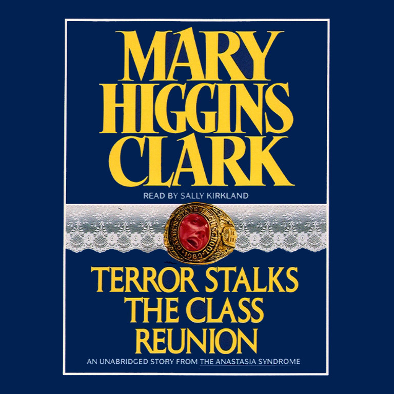 Printable Terror Stalks the Class Reunion Audiobook Cover Art