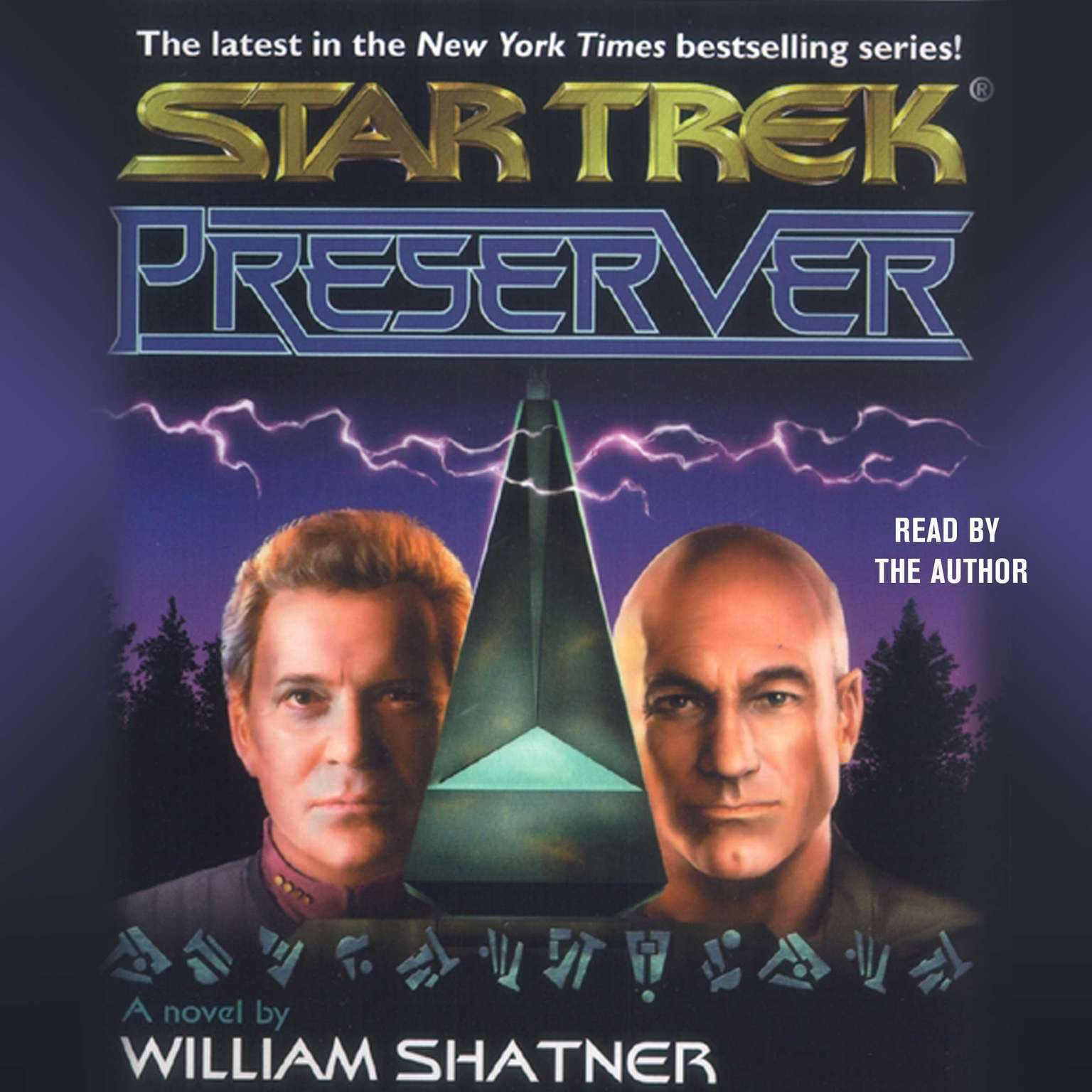 Printable Star Trek: Preserver Audiobook Cover Art