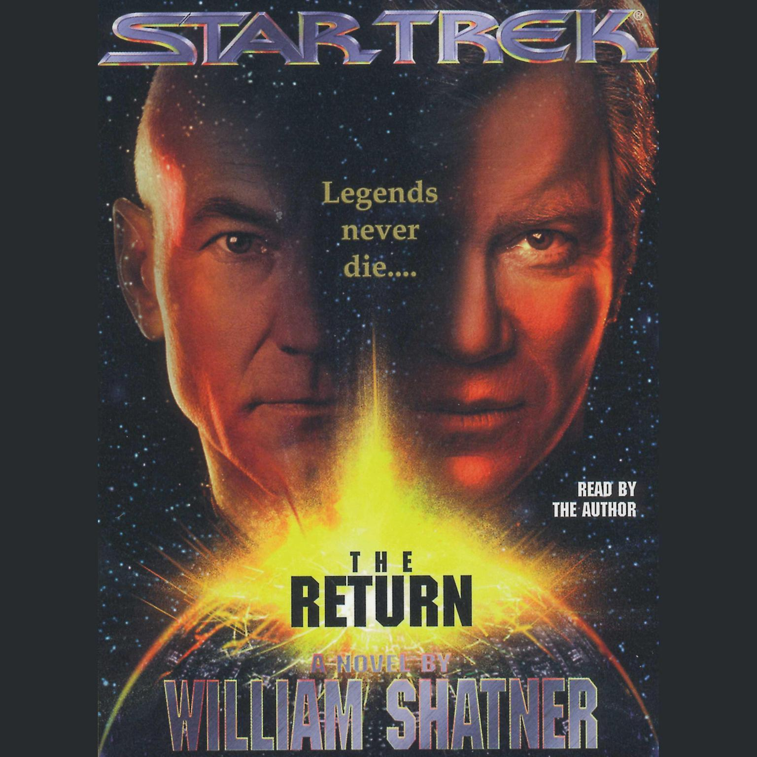 Printable The Star Trek:The Return Audiobook Cover Art
