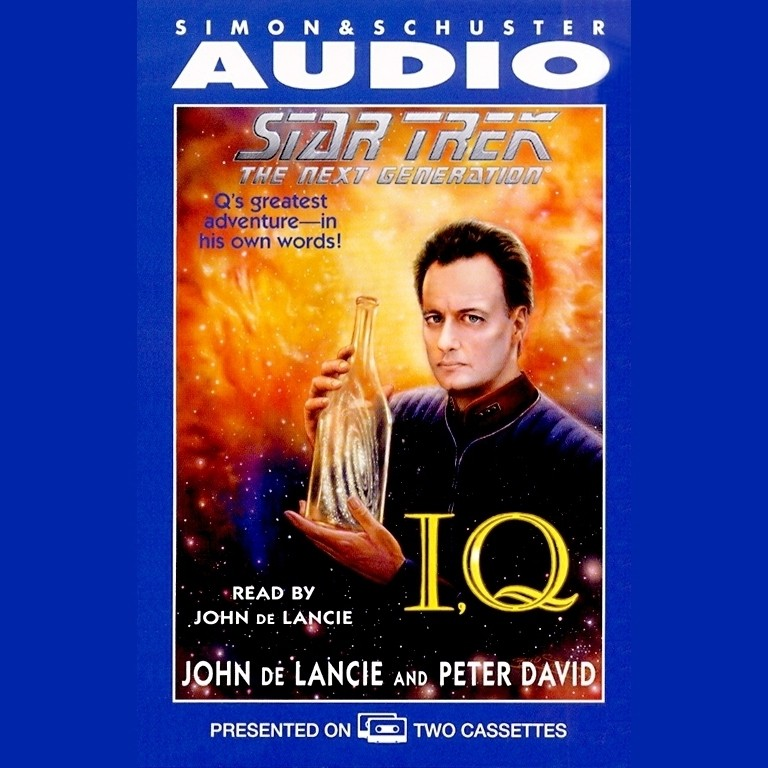 Printable Star Trek the Next Generation: I, Q Audiobook Cover Art